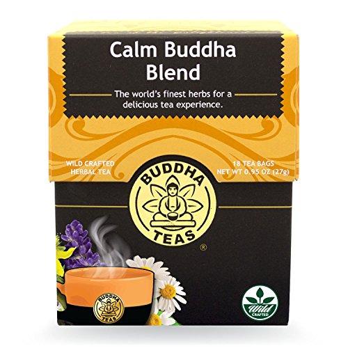 Buddha Teas Calm Buddha Blend, 18 Count (Pack of 6)