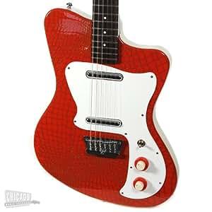 danelectro 39 67 heaven hawk guitar red alligator musical instruments. Black Bedroom Furniture Sets. Home Design Ideas