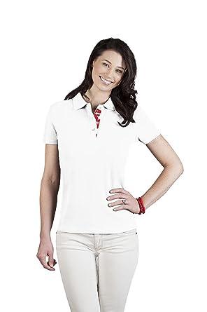 0066912e1818 Fanshirt England Superior Poloshirt Damen  Amazon.de  Bekleidung