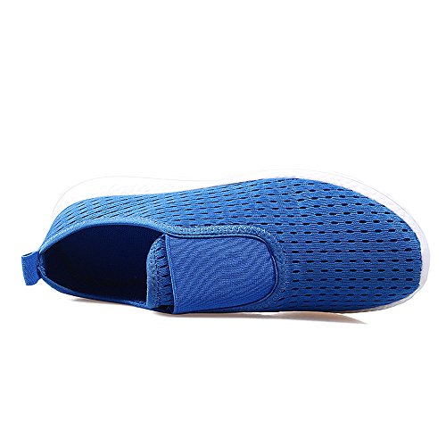 Yuanli Donne Scivolano Su Comode Scarpe Da Passeggio Con Scarpe Da Ginnastica Blu