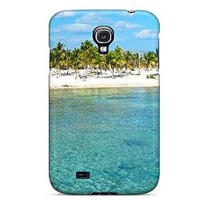 AccDavid Galaxy S4 Hybrid Tpu Case Cover Silicon Bumper Serene Cove