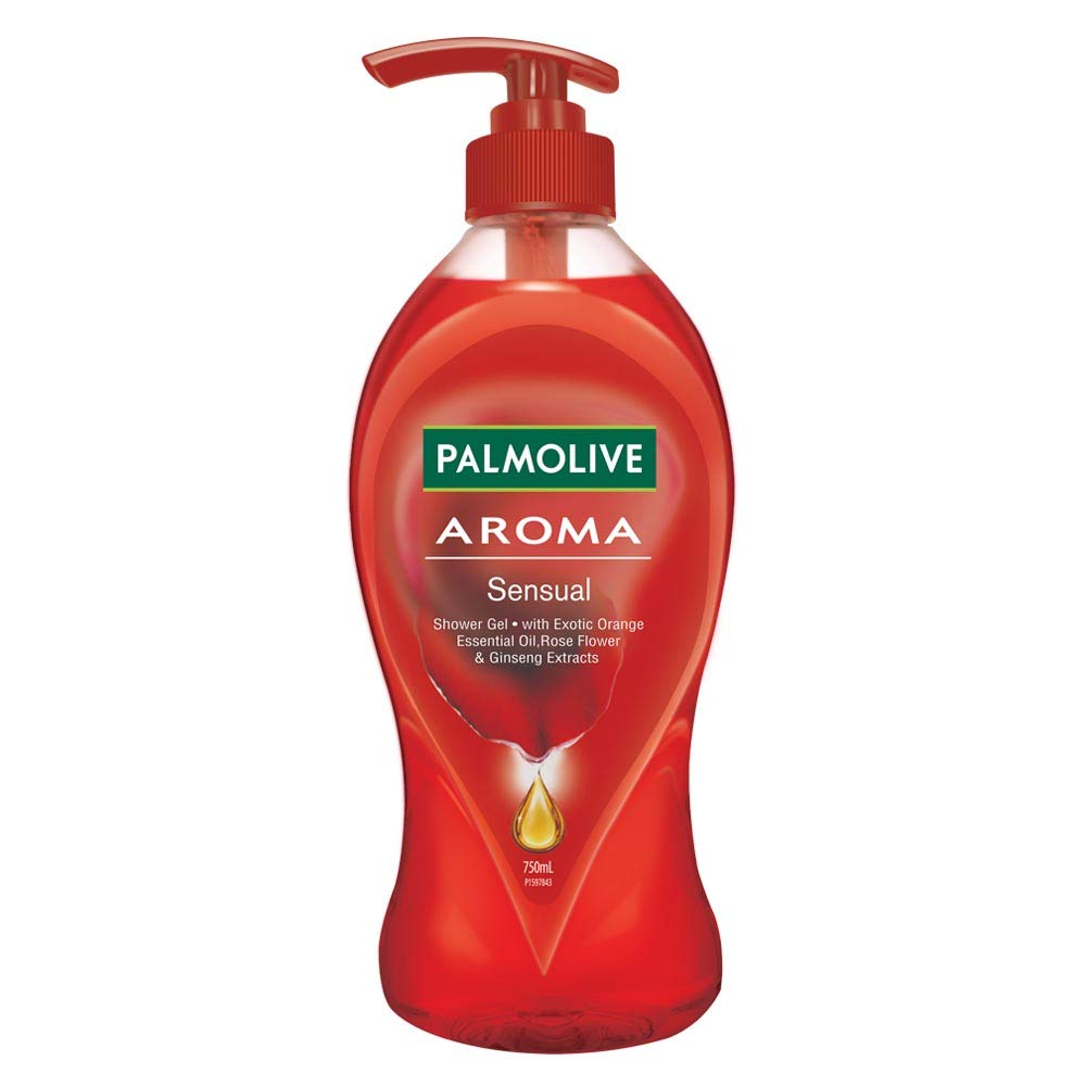 [Apply coupon] Palmolive Body Wash Aroma Sensual, 750ml Pump, Shower Gel