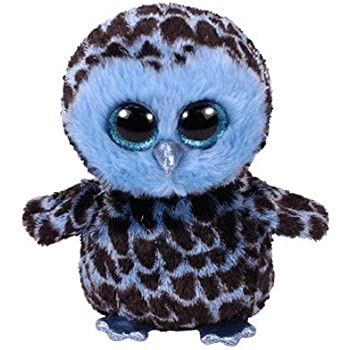 550a9879a9c Amazon.com  Ty Beanie Boos Opal - Owl (Justice Exclusive)  Toys   Games