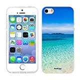 Head Case Designs Tropical Sandy Beach Malcapuya Beautiful Beaches Soft Gel Back Case Cover for Apple iPhone 5 5s