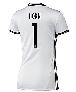 adidas HORN # 1 Alemania Inicio Mujeres camiseta de fútbol Euro 2016 (US size L