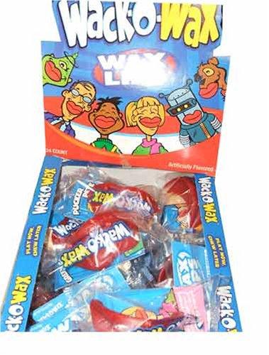 Wack-O-Wax Wax Lips 24 count ()