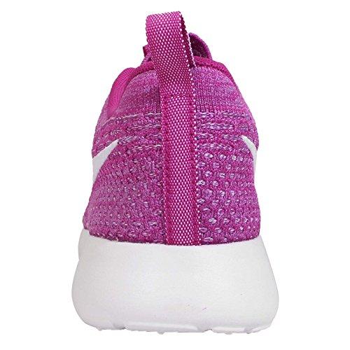 NikeRoshe Flyknit - Zapatillas de Running Mujer Púrpura