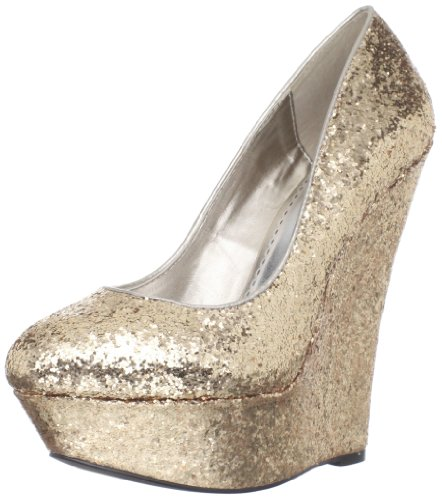 Mujer Gold Pleaser amp; Night Merceditas Glitter Day Para YpYxXw