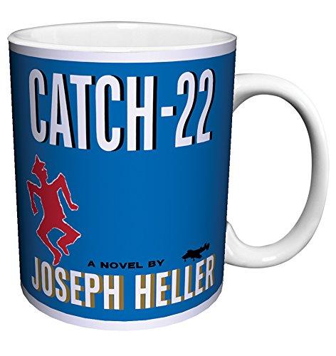 - Joseph Heller Catch-22 Classic Satirical Literature Literary Vintage Book Cover Art Decorative Ceramic Gift Coffee (Tea, Cocoa) 11 Oz. Mug