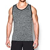 Under Armour Mens UA Tech Tank Top - Medium - Black/Black