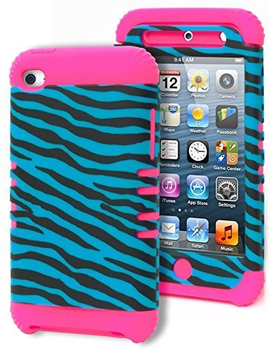 Touch 4 Case, Bastex Heavy Duty Hybrid Protective Case - ...