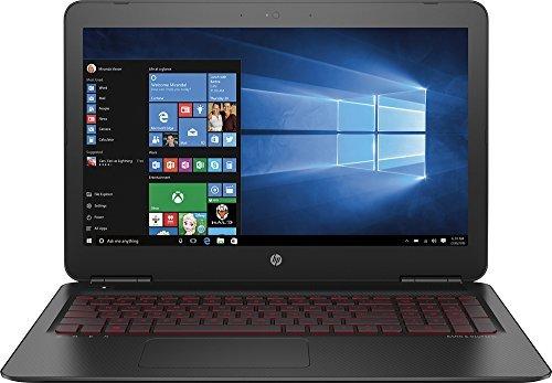 "Price comparison product image HP OMEN - 15.6"" FHD - 7th Gen i7-7700HQ - NVIDIA GTX 1050 - 8GB - 1TB HDD"