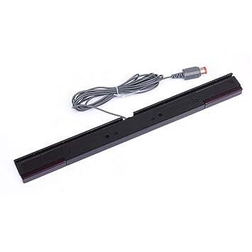 Hemore - Barra de Inductor infrarrojo con Sensor de Movimiento por Cable para Nintendo Wii