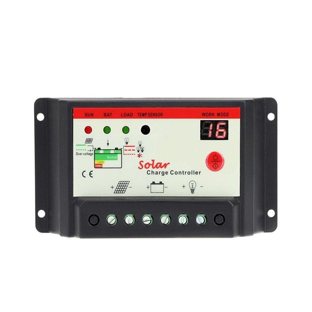 DPJ 30A 12V 24V Solar Cell Panels Battery Charge Controller Timer Light Sensor for Solar Kits LED Street Lighting Max 600W