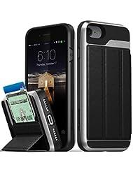 iPhone 8 Wallet Case, iPhone 7 Wallet Case, Vena [vCommute][M...
