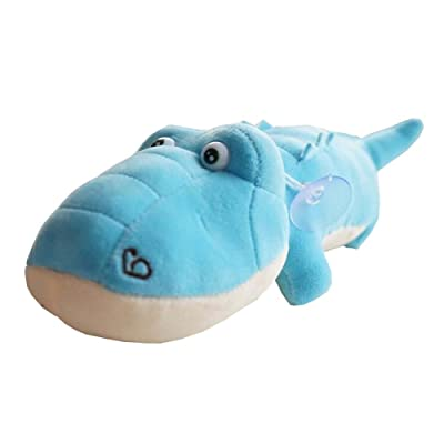 35cm jouet en peluche doudou doux crocodile peluche cadeau jouet d'anniversaire - bleu
