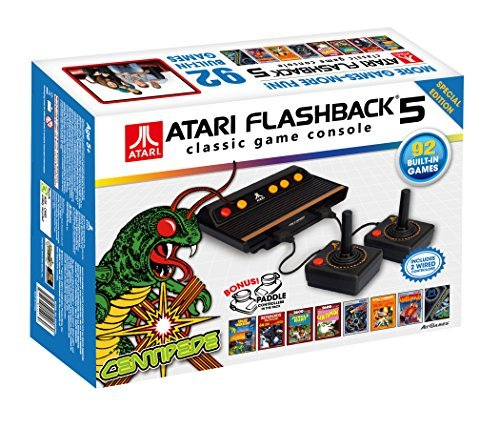 atari-flashback-5-classic-game-console-special-edition-2-wired-controllers-1-pair-of-paddles