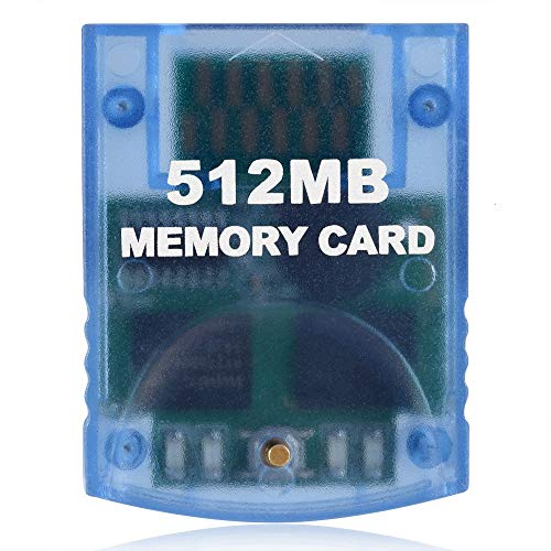 Gamecube Memory Card 512MB 8192 Blocks for Nintendo Gamecube Wii Consoles