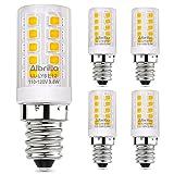 40w type b light bulb - Albrillo E12 LED Bulb, 40 Watt Candelabra Bulbs Equivalent, Soft White 3000K LED Chandelier Light Bulbs, Candle Base Non Dimmable LED Lamp, Pack of 5