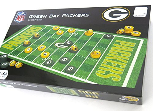 Green Bay Packers Checkers  where the Kings have team helmets. Great gift for Mother`s Day  Father`s Day