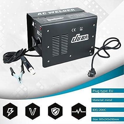 Yogasada Pantalla Digital BX1-200C 200A máquina de Soldadura de Alta ...