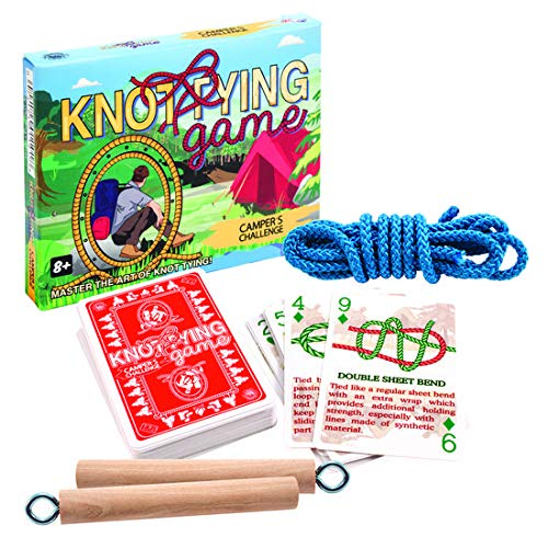 Campers Knot Tying