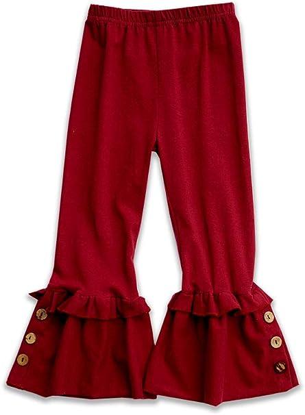 Honeydew cutie Boutique Maroon Button Accent Pants