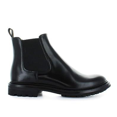db7e846a26bc7 Hiver Automne Genie Femme Bottines Chaussures Church s Noir Chelsea T0F88Uq
