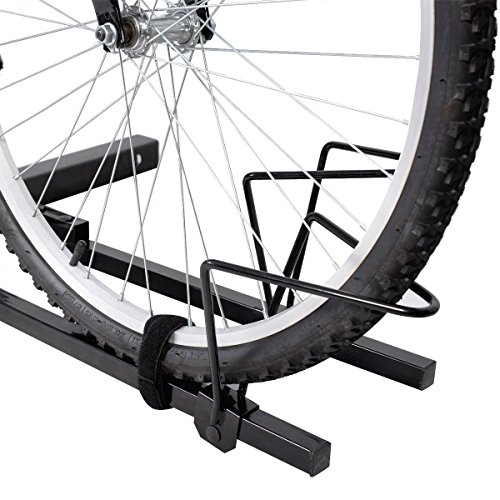 Super buy Upright Heavy Duty 2 Bike Bicycle Hitch Mount Carrier Platform Rack Truck SUV by Super buy (Image #3)