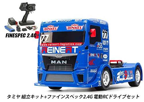 タミヤ RCC REINERT RACING MAN TGS (TT-01E) 組立キット+2.4G 電動ドライブセット 品番45053-58642 B07RG3WMH9