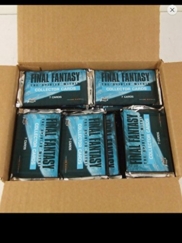 2001 Final Fantasy Trading Cards Lot of (20) Unopened Packs. The Spirits Within Tc Gift Non-sport