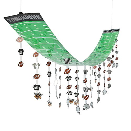 Football Field Party Ceiling Decor (12 feet long)