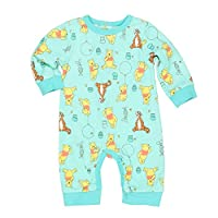 Nannette Baby Boys Tigger & Pooh Coverall 3-6 Months