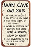 Ohio Wholesale Man Cave Rules Wall Art, from our Water Collection