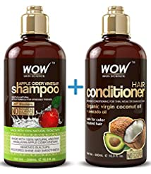 WOW Apple Cider Vinegar Shampoo & Hair C...