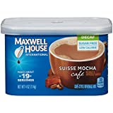 Maxwell House International Cafe Decaf Suisse Mocha Instant Coffee (4 oz Canisters, Pack of 4)