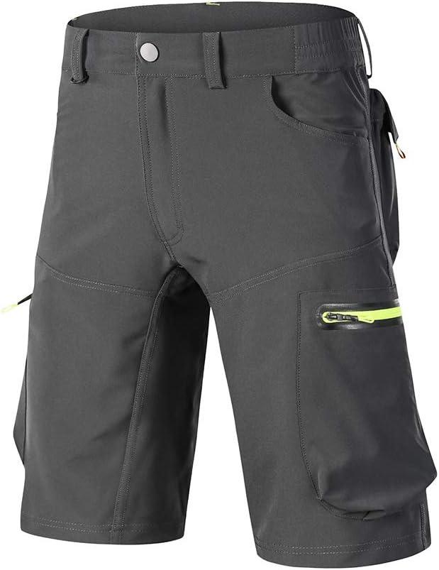 GodUp MTB Hose Herren Kurz Fahrradhose Outdoor Sport Fahrrad Shorts Radpsort ohne Sitzpolster: Amazon.de: Sport & Freizeit - Fahrradhose