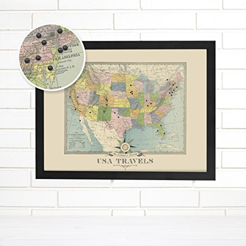 l | Personalized Road Trip Travel Map | Wendy Gold ()