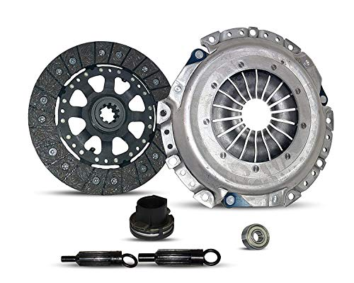 (Clutch Kit Works With Bmw 318I 318Is 318Ti Z3 Base Coupe Sedan Convertible 1.8L L4 GAS DOHC (w/AC; DMF;This Application uses a Dual Mass Flywheel (DMF)))