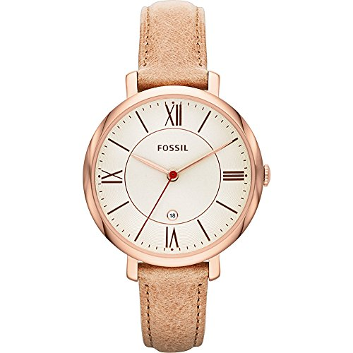 Fossil-Jacqueline-Three-Hand-Leather-Watch
