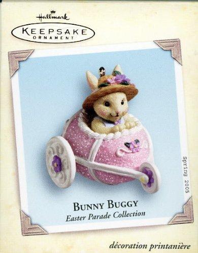 Easter Parade Bunny Buggy Hallmark 2005 QEO8232