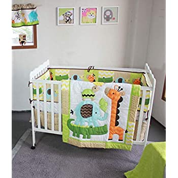 Image of Baby Bedding Set 4 Pieces Home and Kitchen