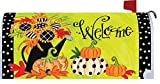 Sunflowers - Mailbox Makeover - Vinyl with Magnetic Strips - Licensed, Copyrighted and Made in the USA by Custom Decor Inc.
