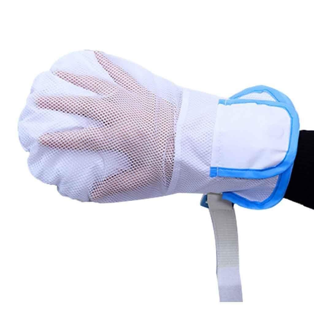TTZ Safety Restraint Gloves, Hand Protectors Personal Safety Devices Finger Control Mitts,Suitable for Any Hand Size (Size : Single) by TTZ