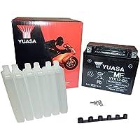 Yuasa YTX12-BS - Batería con paquete de ácido,12V
