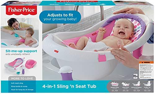 511hd26VnoL - Fisher-Price 4-in-1 Sling 'n Seat Tub