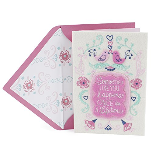 Hallmark Signature Anniversary Card or Love Card for Significant Other (Once in a Lifetime)