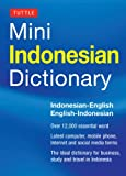 Tuttle Mini Indonesian Dictionary, Katherine Davidsen, 0804842906