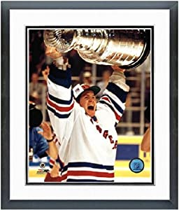 "Mike Richter New York Rangers 1994 Stanley Cup Photo (Size: 12.5"" x 15.5"") Framed"