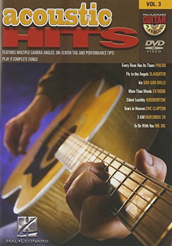 Acoustic Hits - Guitar Play-Along DVD Vol. 3 by Doug Boduch